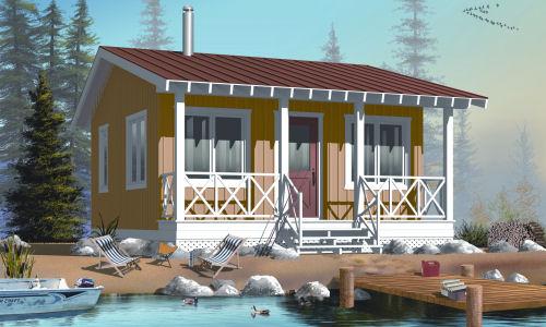 Casa de veraneo 2 planos de casas gratis deplanos com for Decoracion de casas de 40 metros cuadrados
