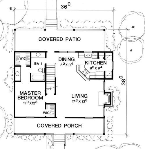 Casa de 2 pisos 3 habitaciones y 107 metros cuadrados planos de casas gratis deplanos com - Casas planta baja ...