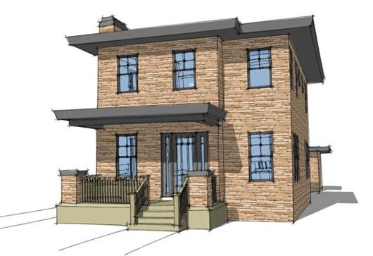 Casa de 2 pisos 3 habitaciones y 150 metros cuadrados for Pisos 80 metros