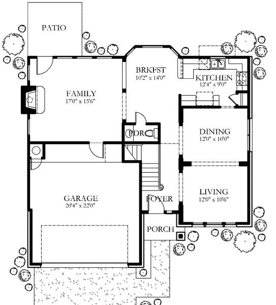 Casa de 2 pisos 3 habitaciones y 200 metros cuadrados for Carros para planos arquitectonicos