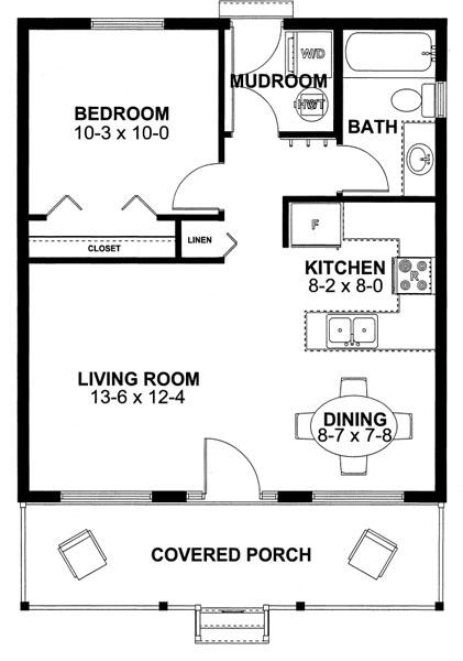 Casas de menos de 100 m2 | Diseños de casas e interiores