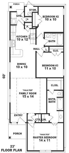 Casa de 1 piso 3 habitaciones y 117 metros cuadrados for Piso 70 metros cuadrados 3 habitaciones