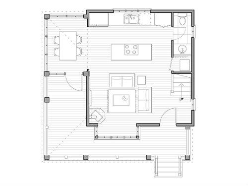 planos de casas 5 x 8 dos pisos