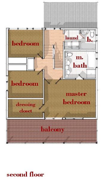 Casa de 2 pisos 3 habitaciones y 167 metros cuadrados for Piso 60 metros cuadrados 3 habitaciones