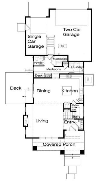 Casa de 2 pisos 3 habitaciones y 183 metros cuadrados - Plano piso 40 metros cuadrados ...