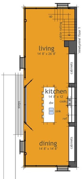 Casa de 2 pisos, 3 habitaciones y 182 metros cuadrados