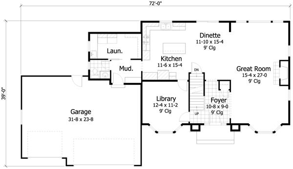 Casa de 2 pisos 4 habitaciones y 235 metros cuadrados - Planos de casas planta baja ...