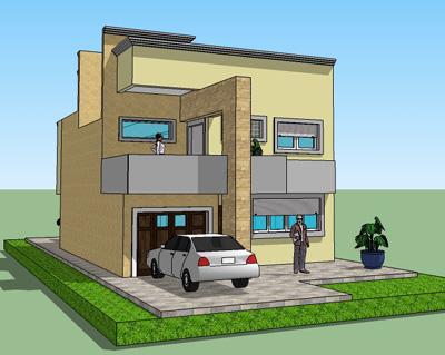 """Casa de 2 pisos y 3 habitaciones """"Sierra colombiana"""""""