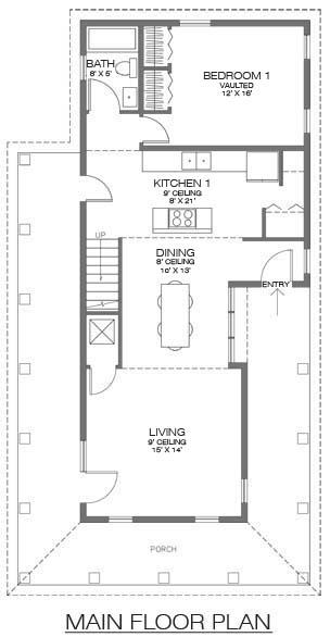 Casa de dos pisos tres habitaciones y 127 metros - Banos de 2 metros cuadrados ...