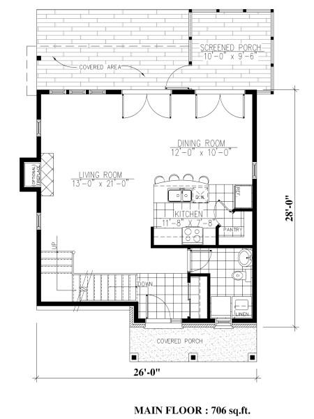 Casa de dos pisos tres tres dormitorios y 131 metros - Banos de 2 metros cuadrados ...
