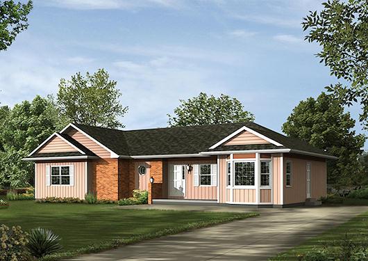 Casa de 1 piso 3 dormitorios y 147 metros cuadrados for Planos de casas de un piso gratis