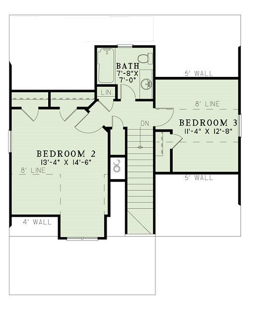 Casa de dos pisos tres dormitorios y 128 metros cuadrados for Dormitorio 15 metros cuadrados