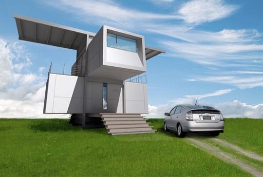 Casa ecologica de 2 pisos 2 habitaciones y 60 metros - Piso de 60 metros cuadrados ...