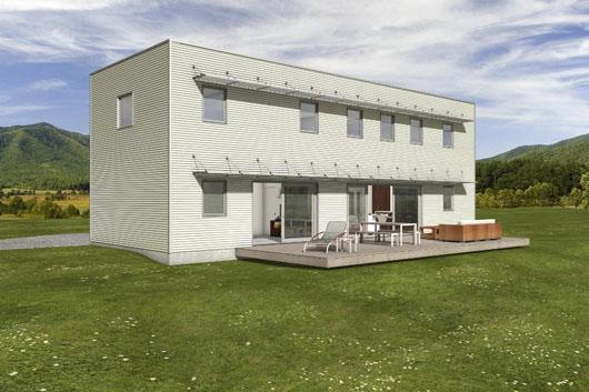 Casa de 2 pisos 3 dormitorios y 204 metros cuadrados for Casa moderna 5 dormitorios
