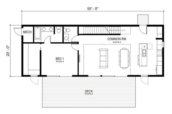 Casa de 2 pisos 3 dormitorios y 204 metros cuadrados - Planos casas planta baja ...