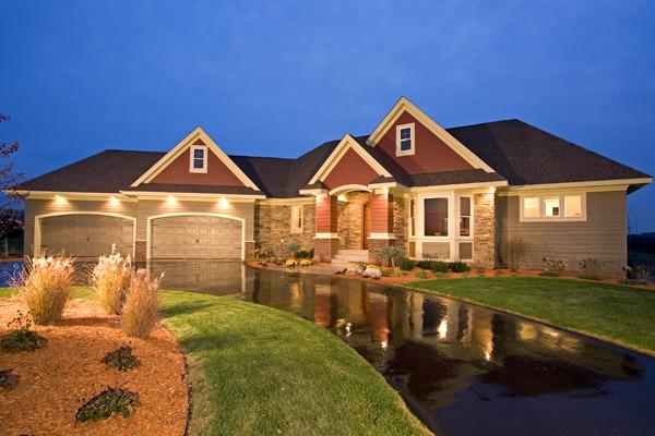 Dise os de casas e interiores casas de m s de 200 m2 - Casas americanas de lujo ...
