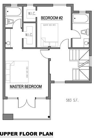 Casa de 3 pisos 2 dormitorios y 150 metros cuadrados for Piso 65 metros cuadrados