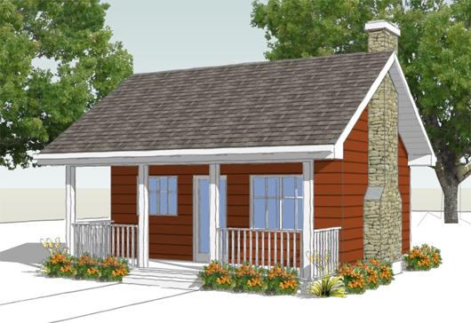planos de casas de campo pequeñas