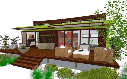 Casa de un dormitorio y 45 metros cuadrados planos de for Disenos de casas de playa pequenas