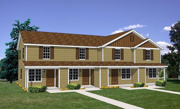 Duplexs de campo de dos dormitorios y 81 metros cuadrados