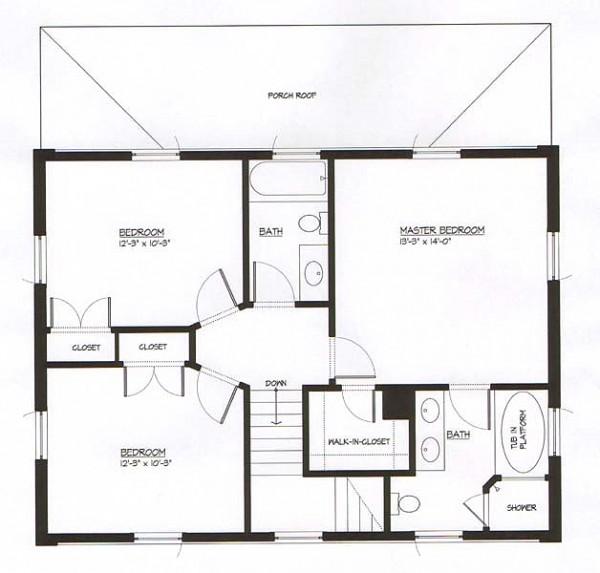 Casa de dos pisos tres dormitorios y 134 metros cuadrados for Piso 60 metros cuadrados 3 habitaciones