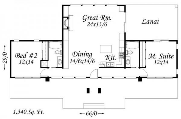 planos de casas luminosa