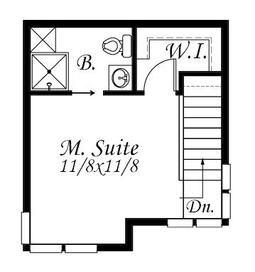 Peque a casa de un dormitorio dos pisos y 47 metros for Metros cuadrados de un piso normal