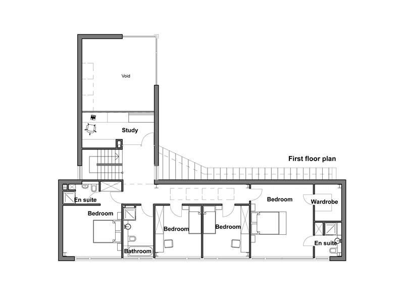 Casa moderna para esquina de 252 metros cuadrados planos - Planos casas modernas ...