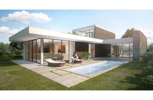 Moderna casa para country de 275 metros