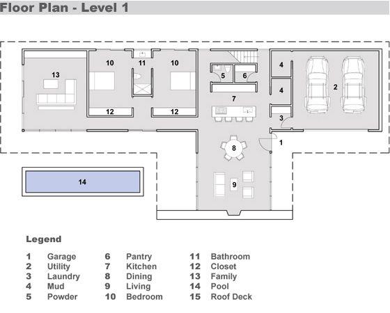Dise os de casas e interiores casas de m s de 200 m2 for Casas minecraft planos