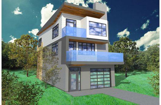 Dise os de casas e interiores casas de m s de 200 m2 for Casa y jardin tienda