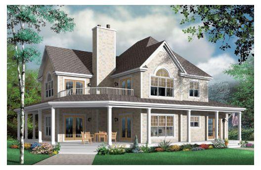 Lujosa casa de dos plantas cuatro dormitorios y 278 metros cuadrados planos de casas gratis - Casas americanas planos ...