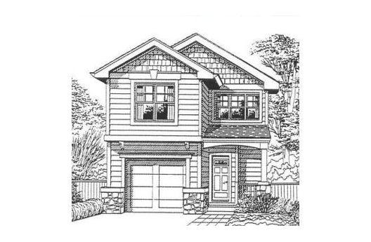 Duplex de tres dormitorios y 130 metros cuadrados con cochera planos de casas gratis deplanos com - Planos faciles de casas ...