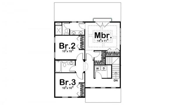 Duplex grande de tres dormitorios y 152 metros cuadrados for Planos para segundo piso