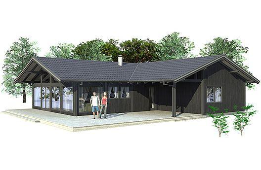 Casa en 3d de tres dormitorios y un piso planos de casas for Diseno de casas 3d online