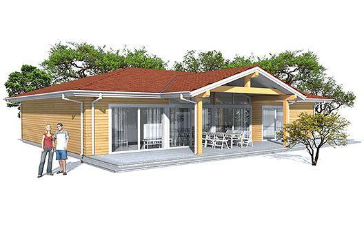 Moderna Casa De Tres Dormitorios Y 153 Metros Cuadrados