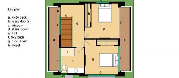 Triplex de dos dormitorios y 128 metros cuadrados planos - Plano piso 40 metros cuadrados ...