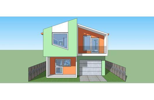 Duplex de dos recamaras y 106 metros cuadrados planos de - Planos de casas pareadas ...