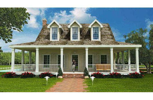 Casa americana de tres dormitorios y 301 metros cuadrados for Casa modelo americano