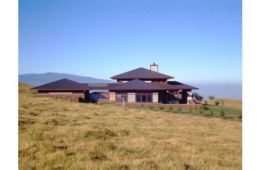 Casa de campo moderna de 334 metros cuadrados planos de for Planos de casas de campo modernas
