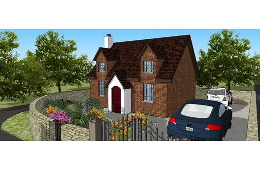 Casa De Ladrillos De Una Planta Dos Dormitorios Y 53