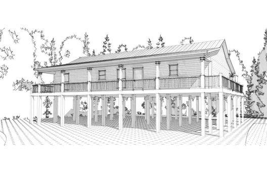 planos de casas en zonas inundables