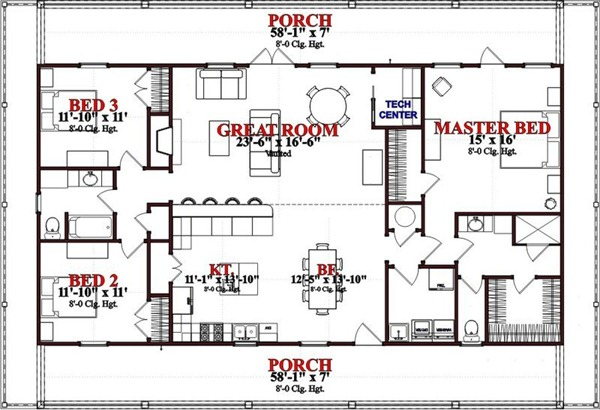 Plano de casa elevada de 167 metros cuadrados planos de for Casas modernas 80 metros cuadrados