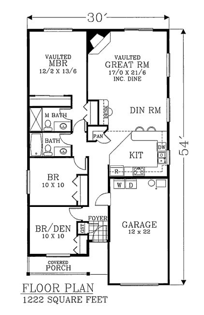 Casa de madera de una planta tres dormitorios y 114 for Casas modernas de 80 metros