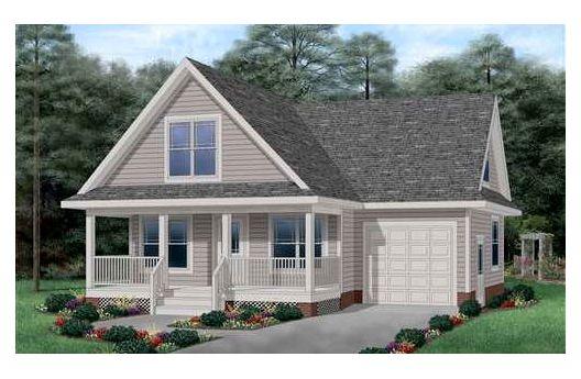 Casa de madera de dos pisos tres habitaciones y 118 for Casas de madera de dos pisos
