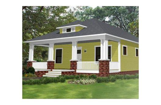 peque a y confortable casa de una planta tres dormitorios On diseños de casas economicas para construir