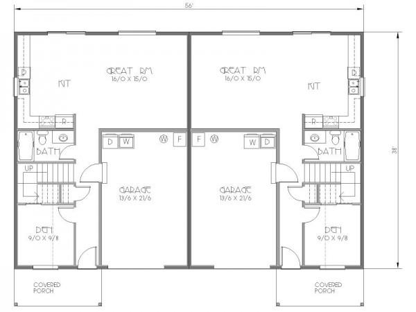 Duplexs de dos dormitorios y 114 metros cuadrados con - Banos de 2 metros cuadrados ...