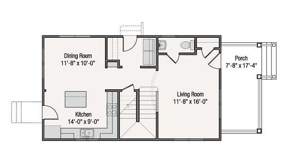 Hermosa casa de dos pisos 3 dormitorios y 126 metros for Piso 65 metros cuadrados