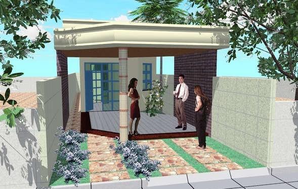 Casa Angosta De Un Piso Tres Dormitorios Y 111 Metros
