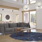 Fotografia del interior de la casa